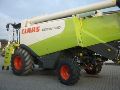 Combine harvester CLAAS Lexion 530, used, Emsbueren - Foto 2