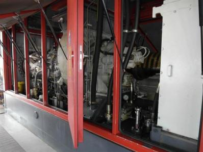Used Protective casing of the gas turbine - Foto 3