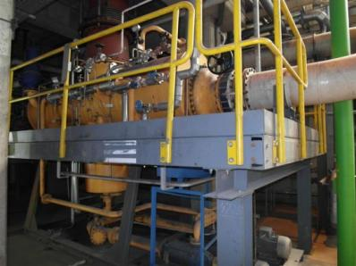 Used Condensing steam turbine Siemens AFA 6 Da / Leroy Somer LSA 56 BL7-4P, 1997 - Foto 7