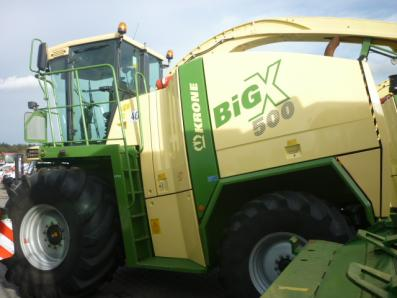 Self-propelled forage harvester Krone Big X 500, used, 2010 Emsbueren - Foto 5
