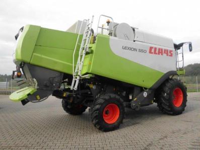 Combine harvester CLAAS Lexion 550, used, Emsbueren - Foto 4