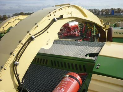 Self-propelled forage harvester Krone Big X 500, used, 2010 Emsbueren - Foto 7