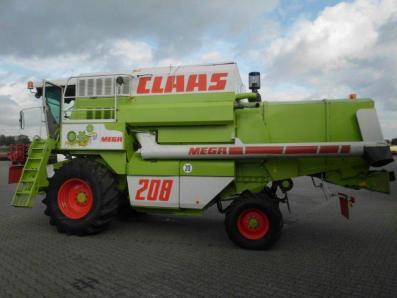 Combine harvester CLAAS Dominator 208 Mega, used, Emsbueren - Foto 3