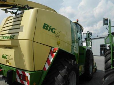 Self-propelled forage harvester Krone Big X 700, used, 2011, Emsbueren - Foto 4