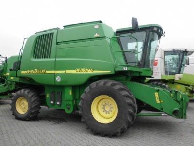 Combine harvester John Deere 9680 WTS, used, Emsbueren - Foto 1