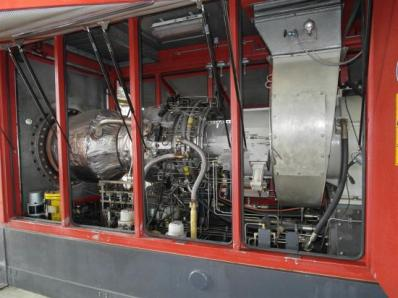 Used Protective casing of the gas turbine - Foto 8