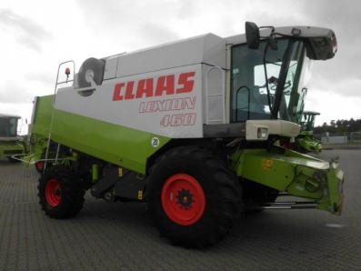 Combine harvester CLAAS Lexion 460, used, Emsbueren - Foto 5