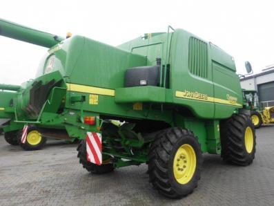 Combine harvester John Deere 9580 WTS 4wd, used, Emsbueren - Foto 4