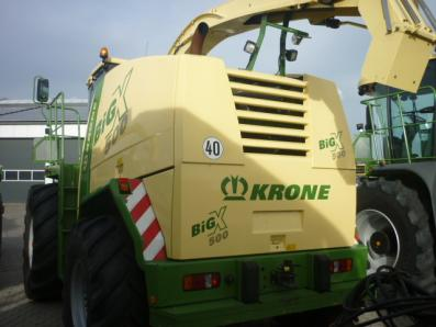Self-propelled forage harvester Krone Big X 500, used, 2010 Emsbueren - Foto 4