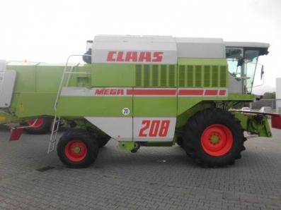 Combine harvester CLAAS Dominator 208 Mega, used, Emsbueren - Foto 1