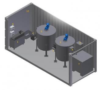 Pilot biogas plant, ok.15 kW - Foto 1