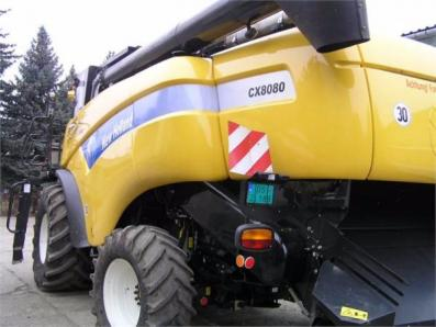 Harvester New Holland CX8080 - BISO Schrattenecker - Foto 5