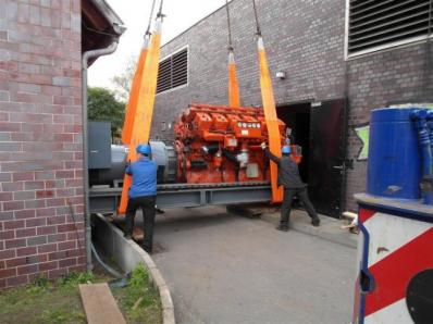 Used Gas cogeneration system / Combined Heat and Power (CHP), Engine: Waukesha L7042G / Leroy Somer LS AK 50 VL10 6-P - Foto 7