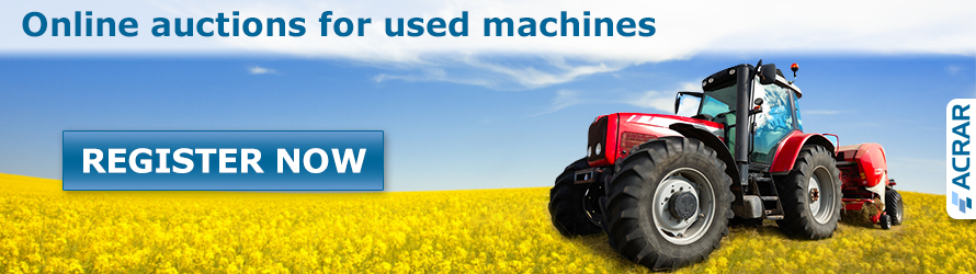 ACRAR - Online auction and Ads of agricultural machinery